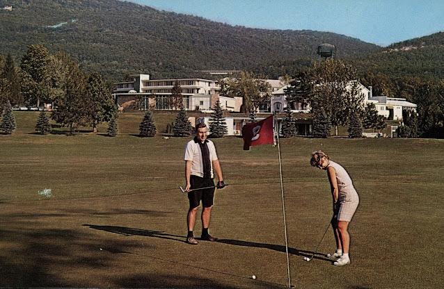 Nevele Grande - Vintage Golf Photograph