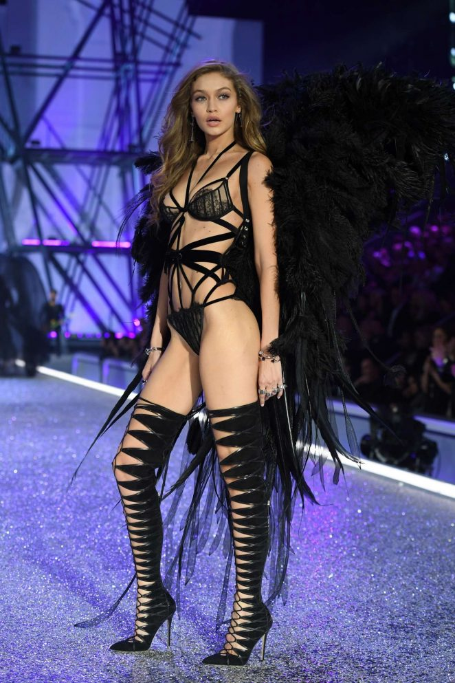 Gigi Hadid mesmerises at the 2016 Victoria's Secret Fashion Show in Paris