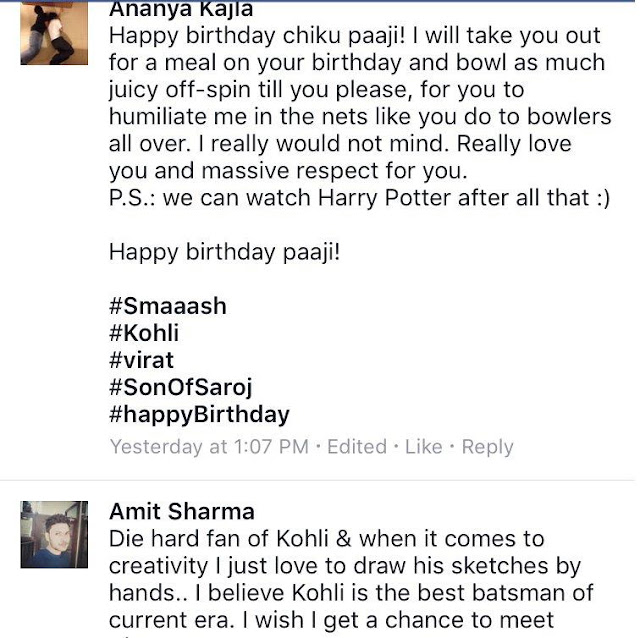 Virat Kohli! Digital Marketing, Smaaash- Virat's Birthday on 5th Nov for fan engagement and contest to Meet Virat Kohli on Facebook