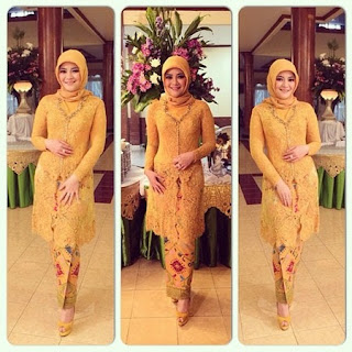 model kebaya simple tapi cantik