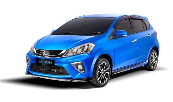 New Sirion 2020 warna biru