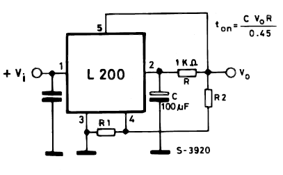 L Voltage Regulator Soft Start Mechanism Circuit Schematic Diagram on Honda Cb100 Wiring Diagram