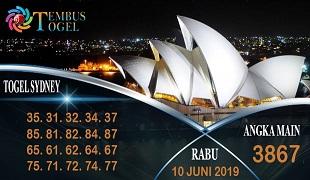 Prediksi Angka Sidney Rabu 10 Juni 2020