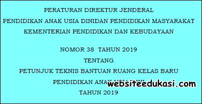 Juknis Bantuan Ruang Kelas Baru PAUD Tahun 2019