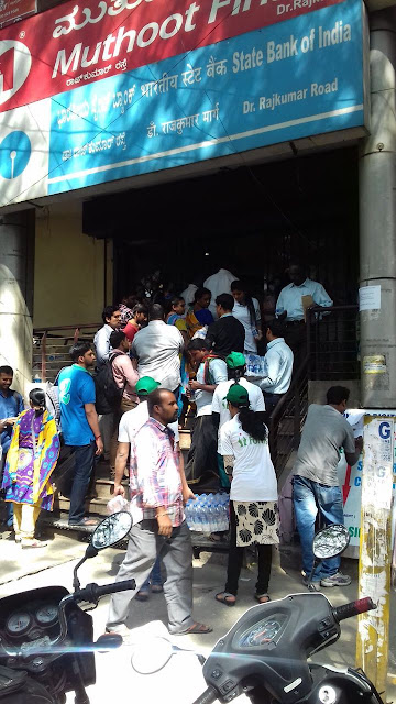 Fortis Charitable Foundation extends a helping hand as Bangalore Queues up for Cash