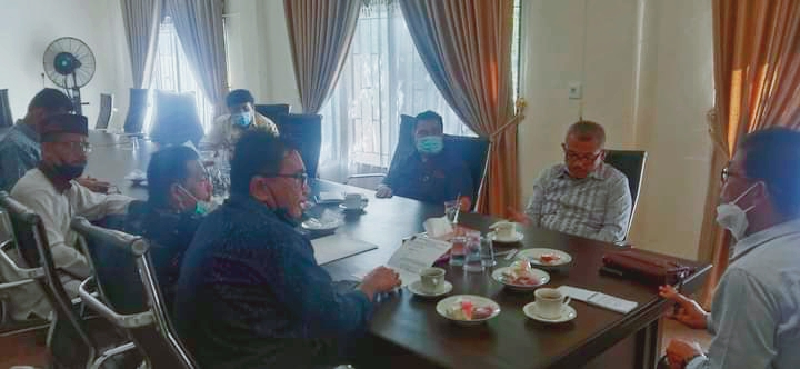 Ketua BK DPRD Kota Sungai Penuh Terima Kunjungan Study Banding BK DPRD Kota Padang Sumbar