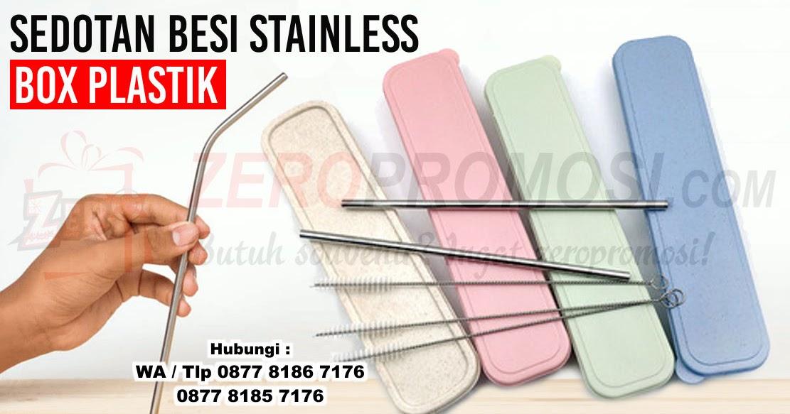 Jual Sedotan Stainless Ramah Lingkungan Kualitas Premium