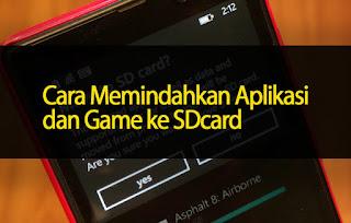 Cara Ampuh Memindahkan Aplikasi dan Game Android ke Memori SD Card
