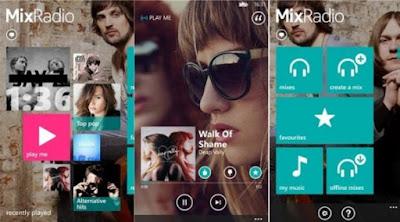 Aplicación Mix Radio