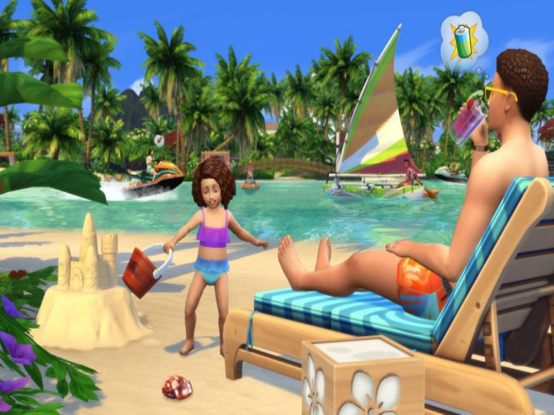 Download The Sims 4 Island Living Game Setup Exe