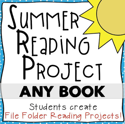 Gotta love this print-and-go resource for a fun and engaging summer reading project!