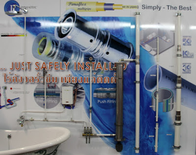 Buriram Pimaflex Hot Water Multipipe PE-RT Installation