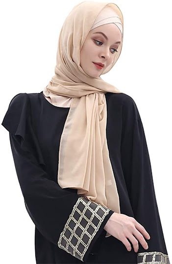 Elegant Chiffon Head Scarves Hijab Shawls Pashmina