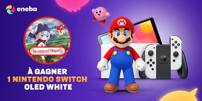 Sorteio de um Nintendo Switch Oled