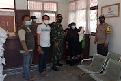 TKSK Jawilan Salurkan BB PPKM BPNT Di Kantor Kecamatan Jawilan