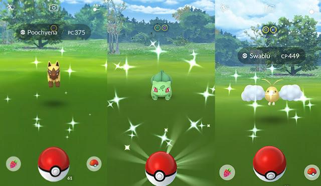 Daftar Pokemon Shiny di Pokemon GO Saat Ini