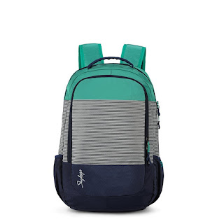 Skybags Zia 47 Ltrs Green Laptop Backpack
