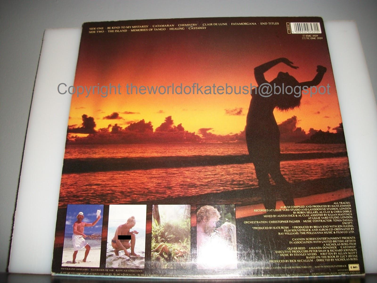 THE WORLD OF KATE BUSH: Castaway - Original Film Soundtrack (LP)