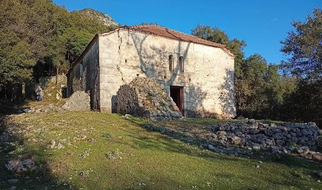 Μπήκε το νερό στ΄ αυλάκι για την διάσωση της ιστορικής μονής Αγ. Ιωάννη Βέλλιανης