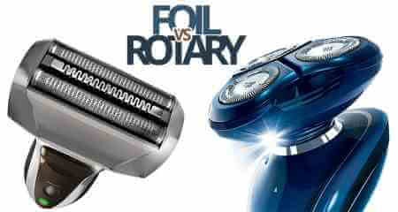 Rotary vs Foil electric shaver
