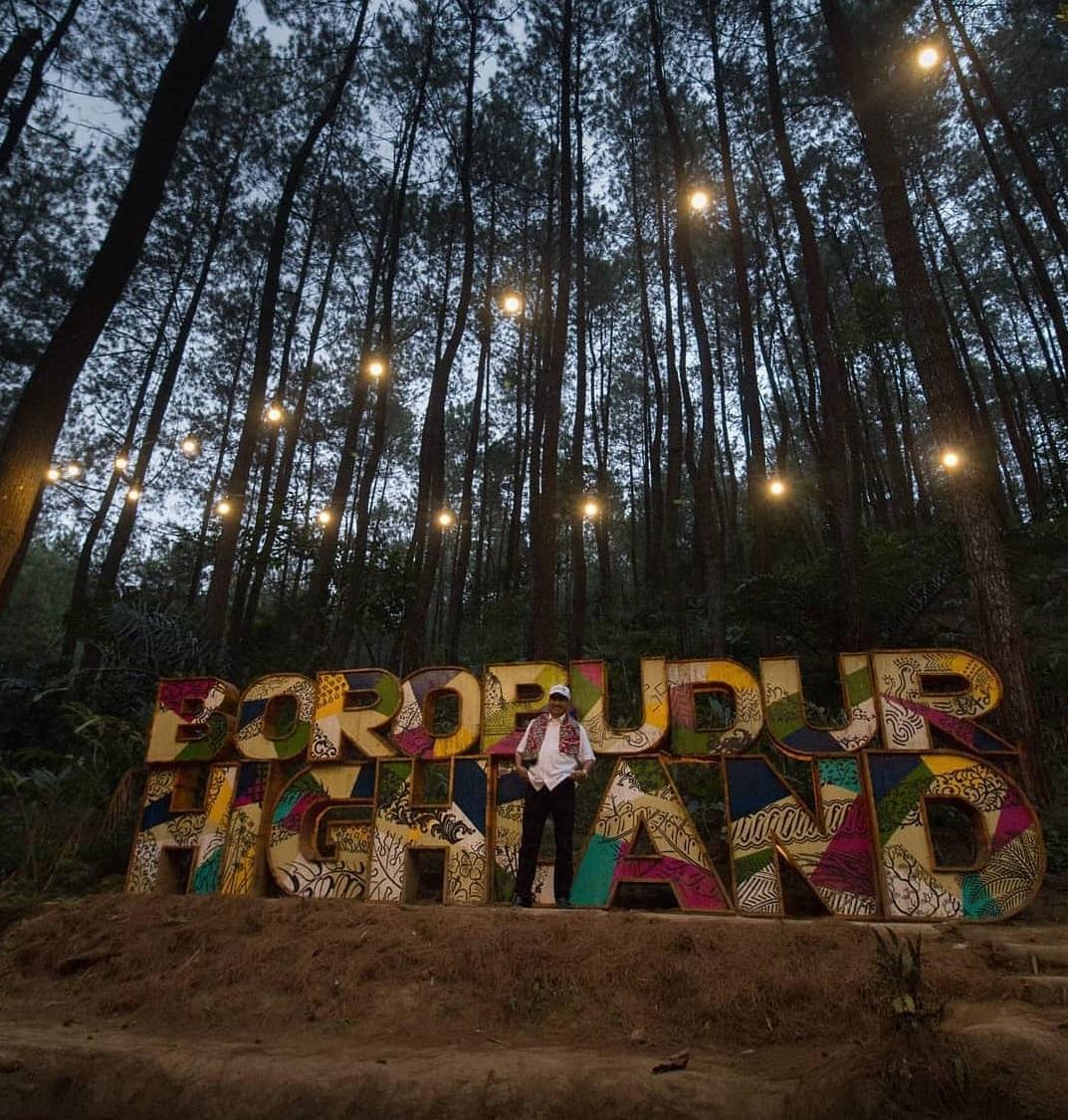 Lokasi DeLoano Glamorous Camping