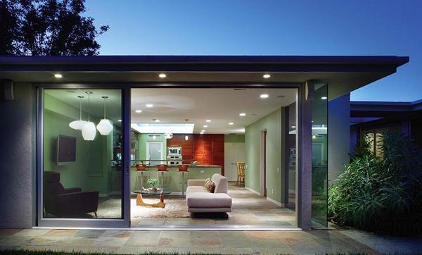 Desain Pintu Kaca Geser Rumah Modern - Rancangan Desain ...