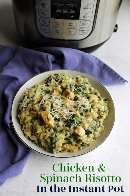 Risotto is the perfect comfort food. Usually the rich flavor and creamy texture require spending some time slowly adding liquid and doing lots of stirring. This recipe gives you all the goodness with a fraction of the work. Using a pressure cooker makes it easy and you can't tell you used a shortcut when you sit down to dinner.