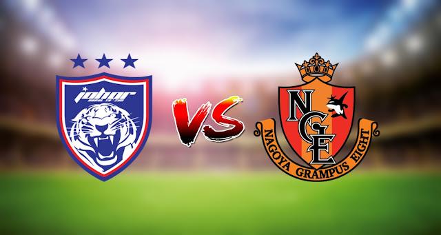 Live Streaming Nagoya Grampus vs JDT 4.7.2021 AFC Champions League