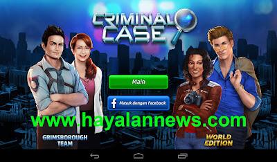 Trik baru mendapatkan energi gratis game criminal case terbanyak