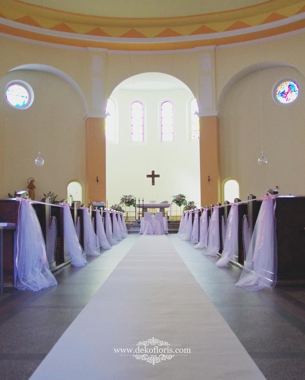 Biały dywan ślub Kolonowskie