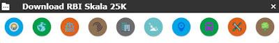 berbagai menu download rbi skala 25k