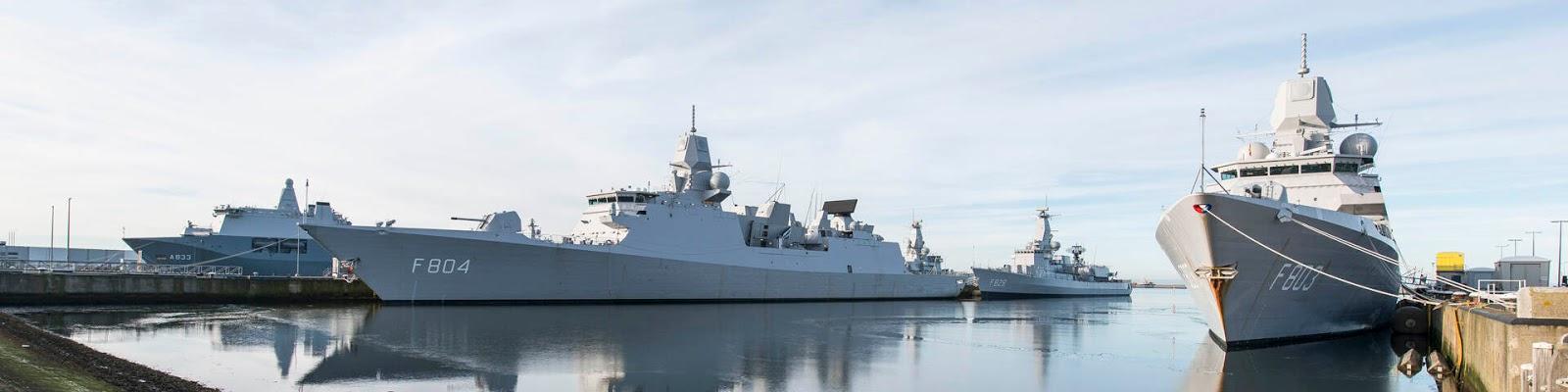 Koninklijke Marine Schepen  bron:defensie.nl