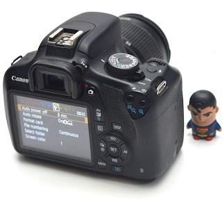 Kamera DSLR Second Canon Eos 1200D Fullset