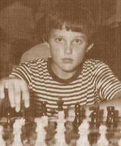 El joven ajedrecista Xavier Bescós Aylón
