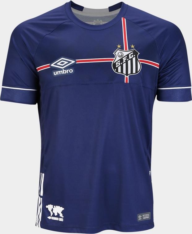 Umbro lança a nova terceira camisa do Santos - Show de Camisas f7f54de686087