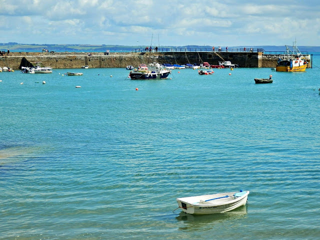 Mevagissey outer harbour, Cornwall