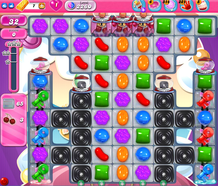 Candy Crush Saga level 2260