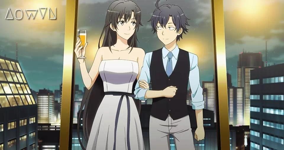 AowVN.org m%2B%252812%2529 - [ Anime 3gp Mp4 ] Yahari Ore no Seishun Love Comedy wa Machigatteiru BD SS1 + SS2 + OVA | Vietsub