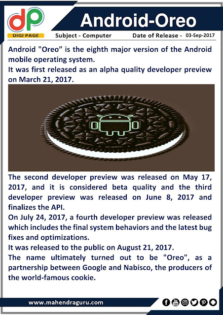 DP | Android-Oreo  | 03 - 09 - 17
