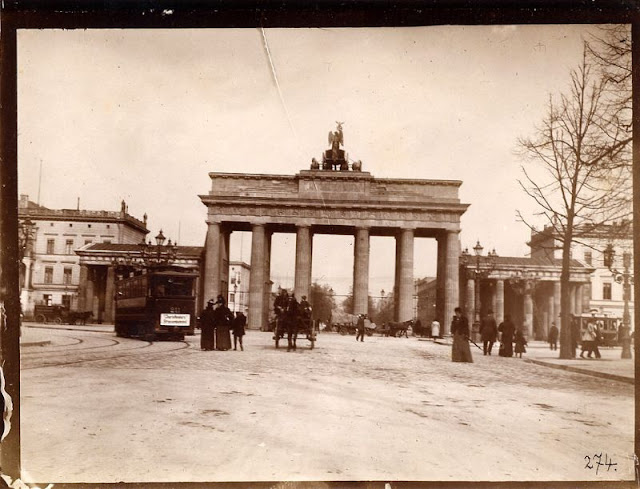 Seltene Aufnahmen aus deutschen Städten um 1900