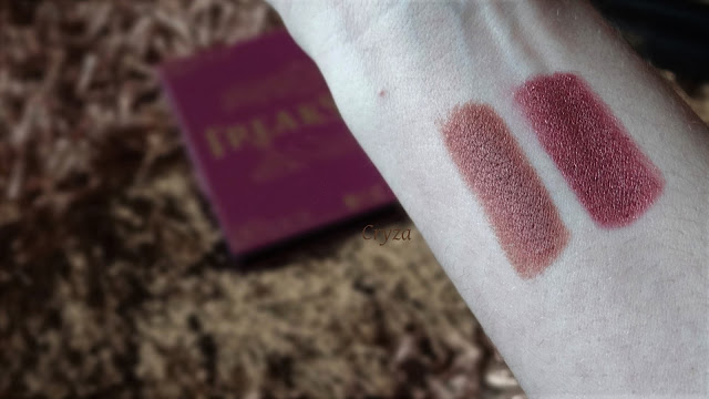 Swatches di Comparazione tra join the circus di Mulac e goa di Nabla