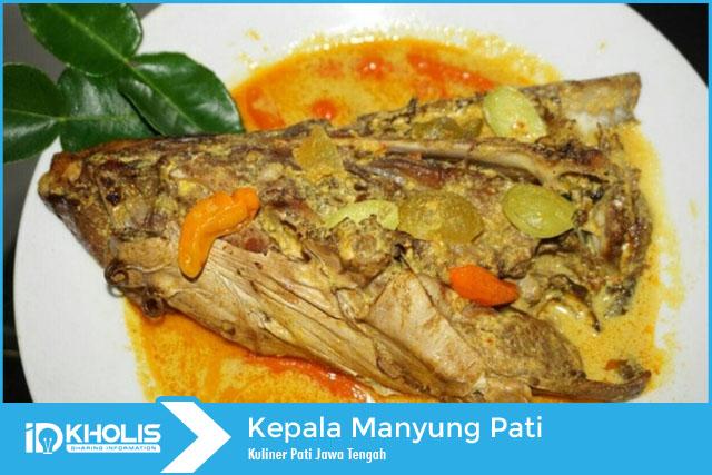 kuliner tradisional kepala manyung pati
