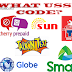 What are USSD Code for Smart, TNT and Sun / Globe, TM and Cherry Prepaid
