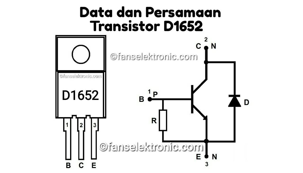 Persamaan Transistor D1652