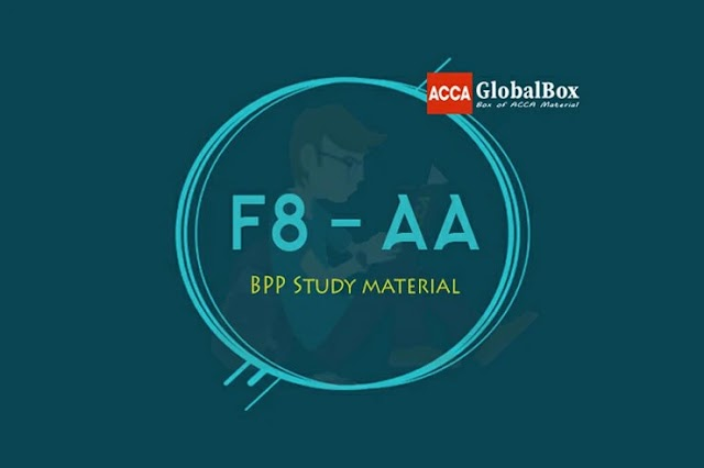F8 - Audit and Assurance (AA) | BPP Study Material