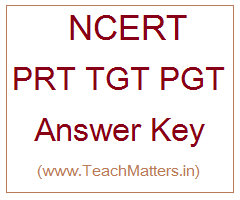 image : NCERT Answer Key PRT TGT PGT @ TeachMatters