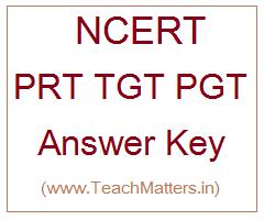 image : NCERT Answer Key PRT TGT PGT @ TeachMatters