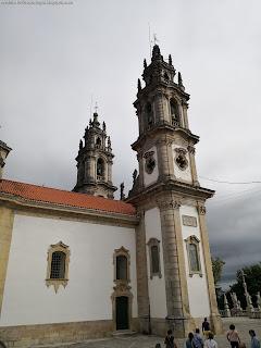 PORTUGAL, CITY / Santuário da Nossa Senhora dos Remédios, Lamego, Portugal