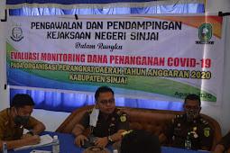 9 Pengelola Dana Covid-19 Sinjai di Evaluasi Kejari dan Inspektorat
