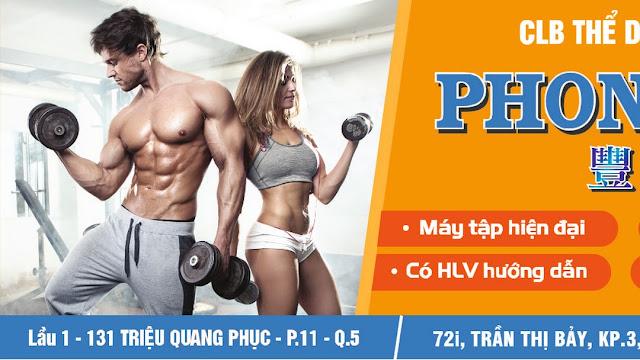 Phòng tập gym Phong Phú quận 5 thành phố Hồ Chí Minh